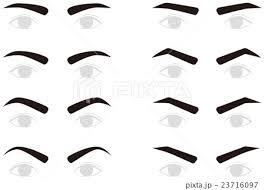 男性の眉毛 トリミングのイラスト素材 23716097 Pixta