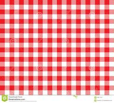 Tablecloth Pattern Adorable Red Table Cloth Background Seamless Pattern Stock Vector