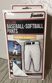 Franklin Deluxe Baseball Softball Pants Youth X Small Buy