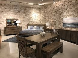 faux stone accent wall remodel