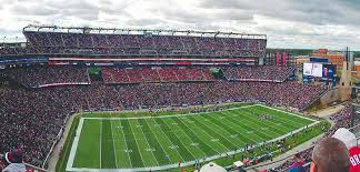 Foxborough Gillette Stadium Seating Chart New England Patriots Pats Tickets 2019 Vivid Seats