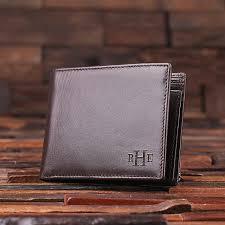 monogrammed mens leather wallet black monogrammed mens leather wallet brown