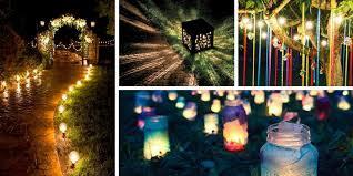 Outdoor lighting ideas diy Summer Garden Diy And Ideas Smart And Easy Diy Outdoor Lighting Ideas For Summer
