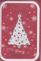 Braille Special Neighbour Christmas Greetings Personalised Braille Xmas Cards