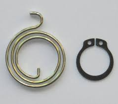 amazon door handle spring repair kit six 2 5 turn 2 5mm thick coils plus six circlips by northern diy home improvement