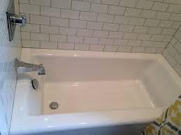 kohler cast iron tub. Kohler Cast Iron Tub. White Subway Tiles. Delta Fixtures. Plumbing And Design By Top Tier, LLC. Tub