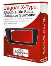 jaguar s type stereo jaguar x type stereo radio facia fascia adapter panel plate trim cd surround