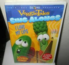 veggietales sing alongs i love my