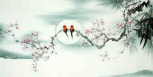 chinese plum blossom painting