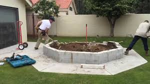 concrete base removal support structure for fiberglass in ground homemade inground hot tub spa diy kit