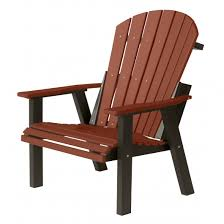 comfo back deck chair burdy on