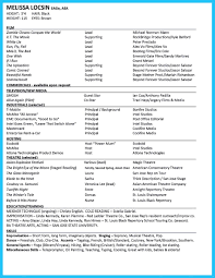 Actors Resume Acting Resume Special Skills Examples Musical Theatre How Do You 57