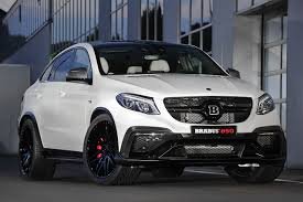 Wallpapers Cars Mercedes-Benz 2015 Brabus AMG GLE-Class C292 White
