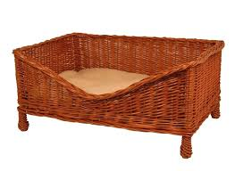 wicker dog bed.  Bed Wicker Dog Bed Luxury With Cushion Large Uk In Wicker Dog Bed