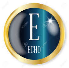 The phonetic alphabet used for confirming spelling and words is quite different and far more phonetic spelling alphabet. E For Echo Button From The Nato Phonetic Alphabet With A Gold Royalty Free Cliparts Vectors And Stock Illustration Image 76825325