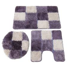 purple and gray bathroom accessories. grey and purple bathroom rug fleurdelissf gray accessories