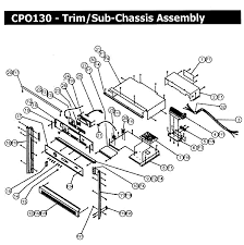 dacor cpo130 wall oven timer stove clocks and appliance timers cpo130 wall oven trim assy parts diagram
