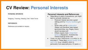 ... Personal Interests On Resume Examples 10 Personal Resume Format 51  Teacher Templates Free Sample Example Format ...