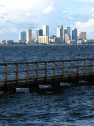 Ballast Point Park File Tampa Skyline With Boat Dock At Ballast Point Park Jpg