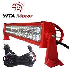 24 Inch Light Bar With Wiring Harness Buy Flush Mount Led Light Bar Yitamotor 4pcs 20w 4inch Led