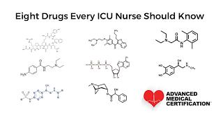Eight Drugs Every Icu Nurse Needs To Know