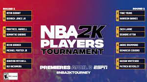NBA 2K' Players Tournament 2020: Full ...