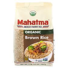 mahatma brown rice. Simple Brown Mahatma Organic Brown Rice 2 Lb Intended R