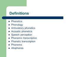 Articulatory Phonetics Chart Normal Aspects Of Articulation Definitions Phonetics