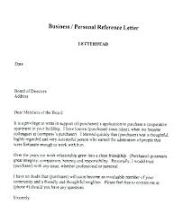Personal Reference Letter Example Meltfm Co