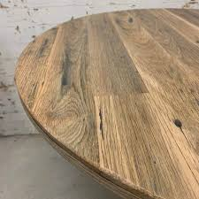 rustic round cafe table top round recycled