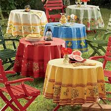 easy care provence tablecloth