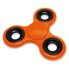 Promotions Spinners Jem Fidget Branded Orange Spinner Promotional
