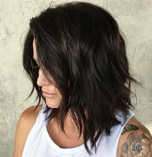 Hairstyles Shoulder Length Hairstyles For Dark Brown Hair Exciting