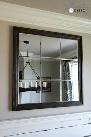 paneled wall mirror large mirror large multi panel wall mirror