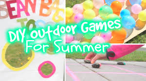 Diy Outdoor Games Diy Outdoor Games For Summer Youtube