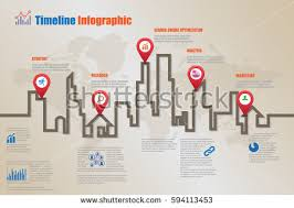 Timeline Website Template Magnificent Design Template Road Map Timeline Infographic Stock Vector 44