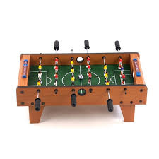 Miniature Wooden Foosball Table Game Miniature Wooden 100inch Foosball Table Game Free Shipping Today 7