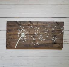 white wood plank wall art