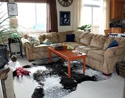 grey cowhide rug cow hide rugs
