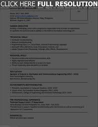 Good Resume Layouts Resume Template
