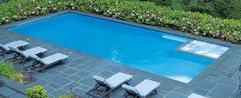 rectangle inground pools with hot tubs. Wonderful Tubs Rectangular Shaped Pool And Chairs In Rectangle Inground Pools With Hot Tubs