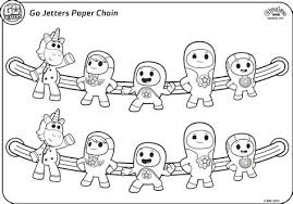 Go Jetters Colouring Pages