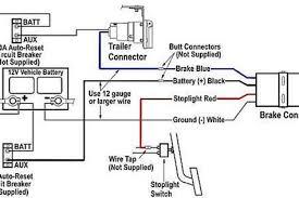 electric trailer brake controller Electric Trailer Breakaway Wiring Diagram How Electric Trailer Brakes Work