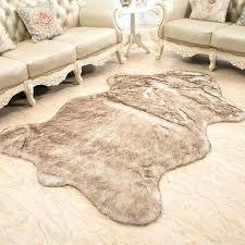 black faux fur area rug sheepskin area rugs wool rug home sheepskin faux fur area rugs
