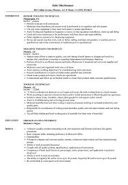 Tooling Technician Resume Samples Velvet Jobs