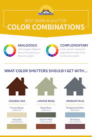Best Siding And Shutter Color Combinations Sunshine