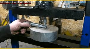 electric hydraulic press built from s