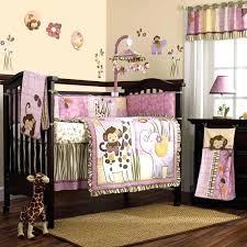 just born animal kingdom 3 piece crib bedding set