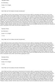harry potter essay page essay on harry potter and the sorcerer s  harry potter at com essay on harry potter