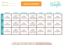 21 Day Fix Extreme Review Results And Details Inside 21